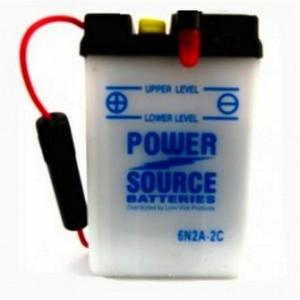 Power Source    6 Volt  Battery (6N2A-2C)