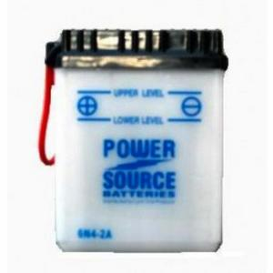Power Source    6 Volt  Battery (6N4-2A)