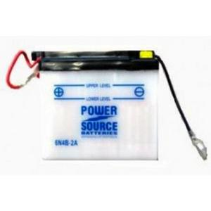 Power Source    6 Volt  Battery (6N4B-2A)