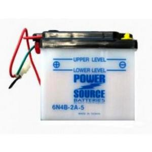 Power Source    6 Volt  Battery (6N4B-2A-5)