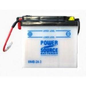 Power Source    6 Volt  Battery (6N4B-2A-3)