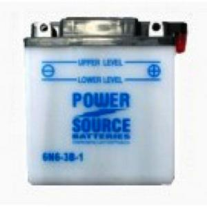 Power Source    6 Volt  Battery (6N6-3B-1)
