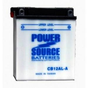 Power Source    12 Volt  Battery (CB12AL-A)