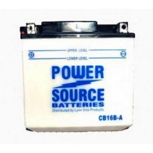 Power Source    12 Volt  Battery (CB16B-A)