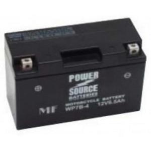 Power Source    12 Volt  Battery (WP7B-4),  Sealed AGM
