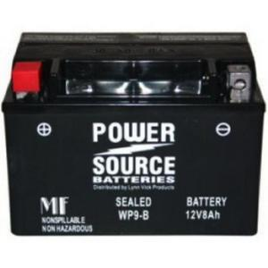 Power Source    12 Volt  Battery (WP9-B),  Sealed AGM