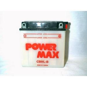 Power Max    12 Volt  Battery (CB9L-B)
