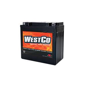 WestCo Power Sport 12 Volt  Battery (YB16CLB / YTX20HL-BS-PW)