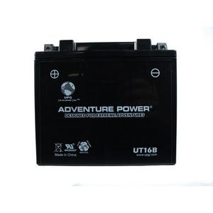 UPG Power Sport  12V  Battery (UT16B), Sealed AGM