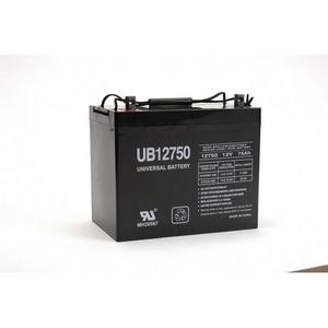 Universal 12 Volt 75AH Sealed AGM Battery (UB12750) Size 24