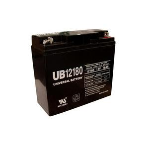 Universal Sealed AGM 12 Volt 18AH Battery (UB12180)
