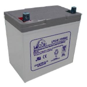 LEOCH Sealed AGM 12V - LP12-55T9