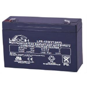 LEOCH Sealed AGM 6 Volt Battery - LP6-12T1