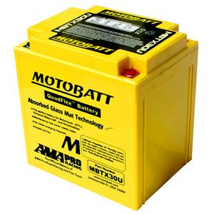 MOTOBATT MBTX30U - 12Volt Absorbed Glass Mat (AGM) Battery