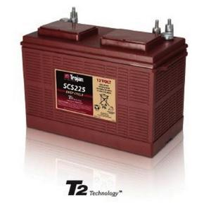 Trojan SCS225: 12V MARINE/RV Deep Cycle Flooded Battery with T2 Technology