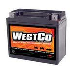 WestCo Power Sport 12 Volt  Battery (YTX20L-BS / YTX20HL-BS)