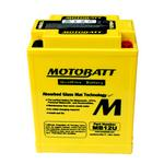 MOTOBATT MB12U - 12Volt Absorbed Glass Mat (AGM) Battery