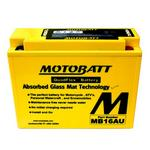 MOTOBATT MB16AU - 12Volt Absorbed Glass Mat (AGM) Battery