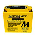MOTOBATT MB18U - 12Volt Absorbed Glass Mat (AGM) Battery