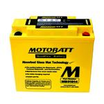MOTOBATT MB51814 - 12Volt Absorbed Glass Mat (AGM) Battery