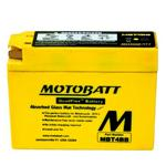 MOTOBATT MBT4BB - 12Volt Absorbed Glass Mat (AGM) Battery