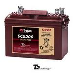 Trojan SCS200: 12V MARINE/RV Deep Cycle Flooded Battery with T2 Technology