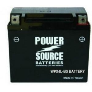 Power Source 12 Volt Battery (WP4L-B), Sealed AGM