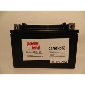 Power Max 12 Volt Battery (GTX9-BS)