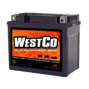 WestCo Power Sport 12 Volt Battery (YTX12-BS)