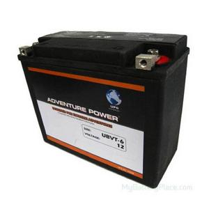 Kinetic VTWIN12 Volt 22AH 350CCA Sealed AGM Battery (APVTX24HL) - Note: This battery has flush mount terminals especially designed for Harley applications, Sealed AGM