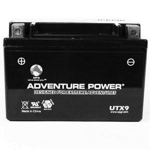 UPG Power Sport 12 Volt Battery (UTX9), Sealed AGM
