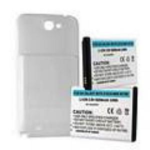SAMSUNG GALAXY NOTE II 6.2Ah EXTENDED BATTERY W/ NFC WHITE COVER (9322130570)