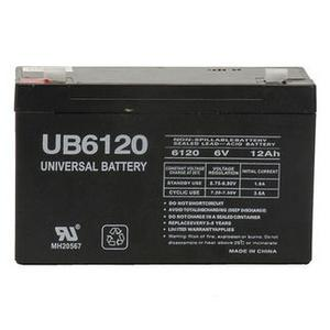 Universal Sealed AGM 6 Volt 12AH Battery (UB6120F2)