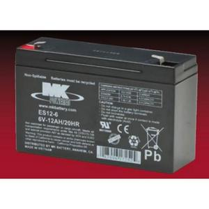 MK Sealed AGM 6 Volt Battery (6V120)
