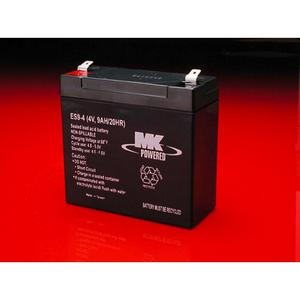 MK Sealed AGM 4 Volt Battery (4v090)