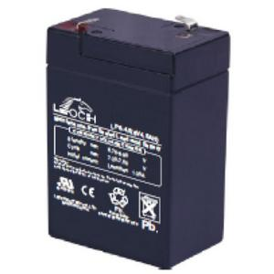 LEOCH Sealed AGM 6 Volt Battery -LP6-4.5T1