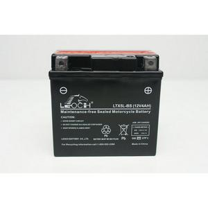 LEOCH Power Sport 12 Volt Battery (LTX5L-BS), Dry Charged AGM Maintenance Free