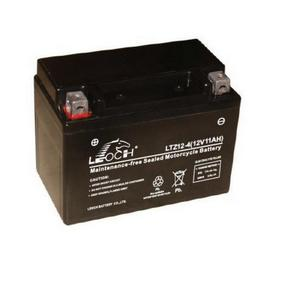 LEOCH Power Sport 12 Volt Battery (LTZ12-4), Sealed AGM