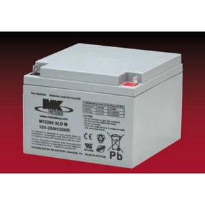 MK 12 Volt Sealed AGM Battery - Size 26-12