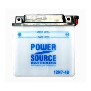 Power Source    12 Volt  Battery (12N7-4B)