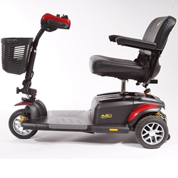 Golden Tech Buzzaround EX (GB118) 3-Wheel Scooter (Red/Blue)