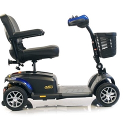 Golden Tech BuzzAround EX (GB148) 4-Wheel Scooter (Blue)
