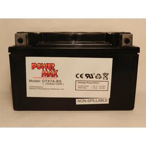 Power Max    12 Volt  Battery (GTX7A-BS)