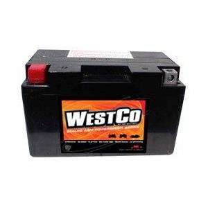 WestCo Power Sport 12 Volt  Battery (12V12A-BS)