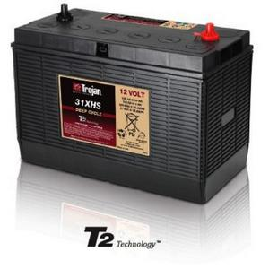 Trojan 31XHS: 12V Deep Cycle Flooded Battery with T2 Technology