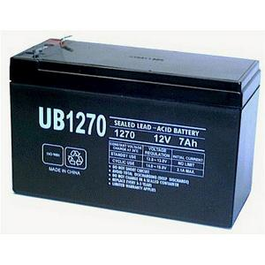 Universal Sealed AGM 12 Volt 7AH Battery (UB1270F1)