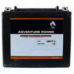 Kinetic VTWIN 12 Volt 18AH 310CCA Sealed AGM Battery (APTVTX20HL) - Note: This battery has flush mount terminals especially designed for Harley applications, Sealed AGM