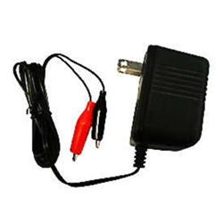 Universal 12 Volt 500mA Single Stage Charger with Clips 12BC0500S-1