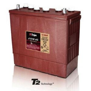 Trojan J185E-AC: 12V Deep Cycle Flooded Battery with T2 Technology