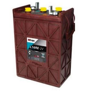 Trojan LR16RE-2V: 2V PREMIUM LINE Deep Cycle Flooded Battery, 1,600 CYCLES @ 50% DOD - WITH SMART CARBON™